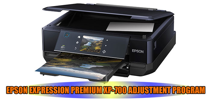 EPSON EXPRESSION PREMIUM XP-700 PRINTER ADJUSTMENT PROGRAM