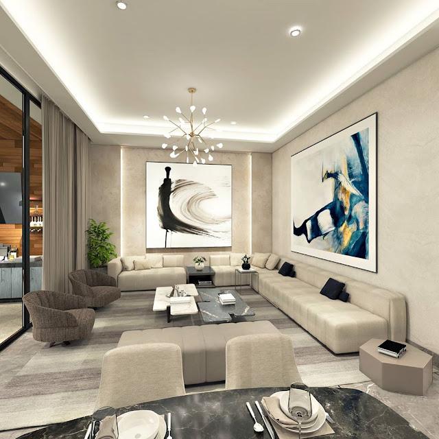 Gambar Plafon Rumah Minimalis Mewah Terbaru