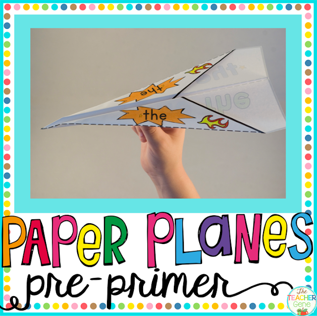 https://www.teacherspayteachers.com/Product/Sight-Word-Paper-Planes-Pre-Primer-3664224