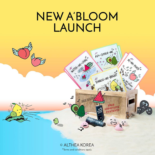 New Althea Korea A'Bloom Collection