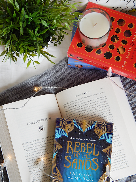Rebel Of The Sands No Spoiler Book Review | sprinkledpages