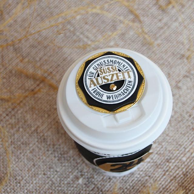 Süsse Auszeit im Advent im Kaffeebecher to go
