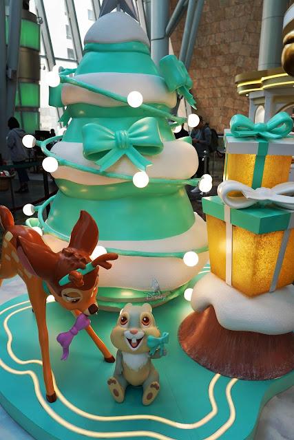 迪士尼聖誕森林 Disney CHRISTMAS IN THE WOODS Langham Place
