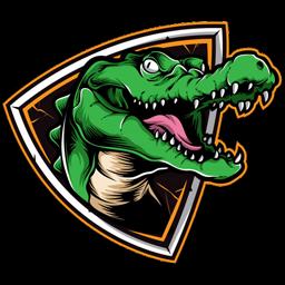 logo dls crocodile