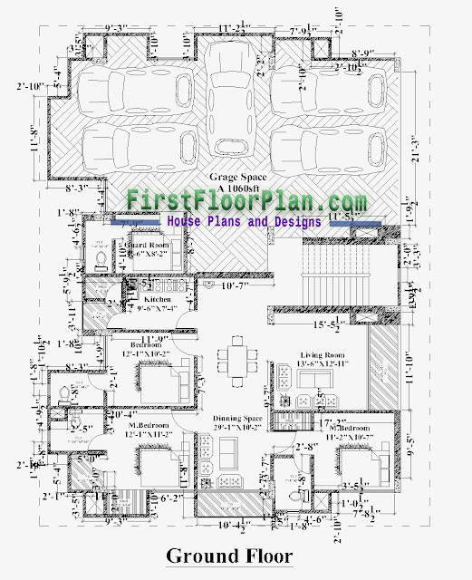 apartment plan with dimensions