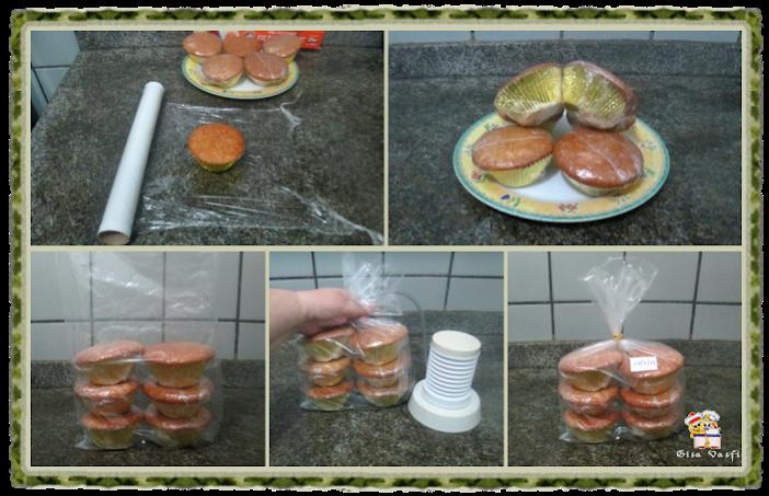 Cupcake de fécula de batata 6