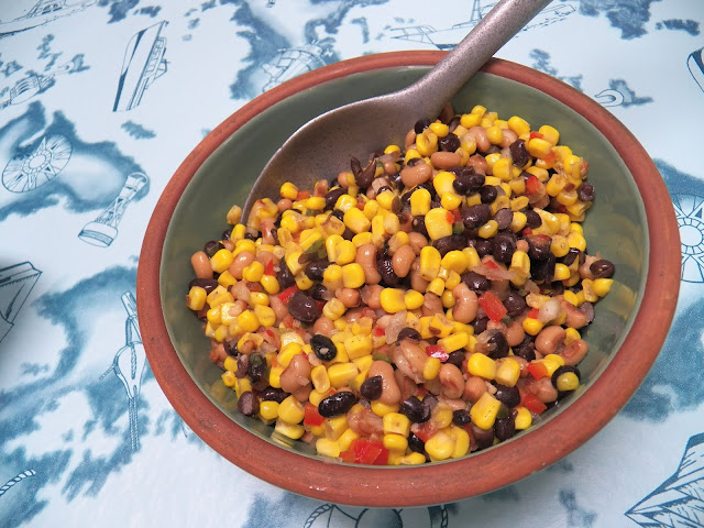 Mixed Bean and Corn Salad