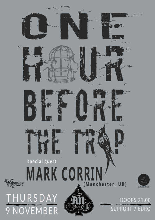 ONE HOUR BEFORE THE TRIP w/ Mark Corrin: Πέμπτη 9 Νοεμβρίου @ An Club