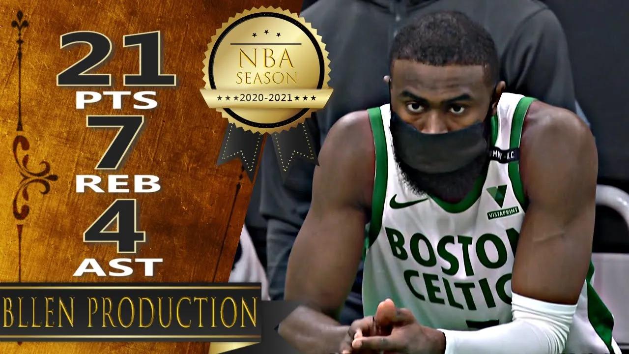 Jaylen Brown 21pts 7reb 4ast vs TOR   March 4, 2021   2020-21 NBA Season