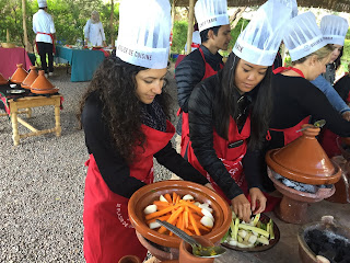 taking a cooking class in Marrakech