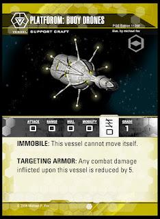 Vessel: Support Craft: Platform Buoy Drones