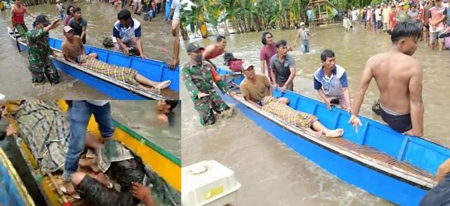 Perahu Dihantam Ombak Tinggi, 3 Orang Tewas, 5 Selamat