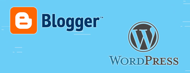 Blogger dan Wordpress