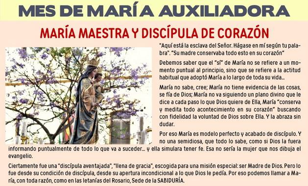 MES DE MARIA AUXILIADORA