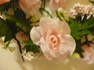 writing straight from the heart pink rose garland for the garland for fireplace mantel with lights Lighted Garland for Fireplace Mantel
