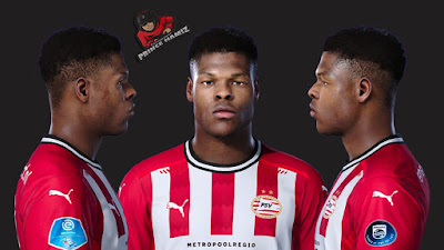 PES 2021 Faces Denzel Dumfries by Prince Hamiz