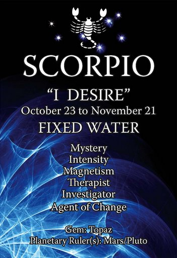 Sarina Damen - Spiritual Counsellor and Life Coach: Scorpio