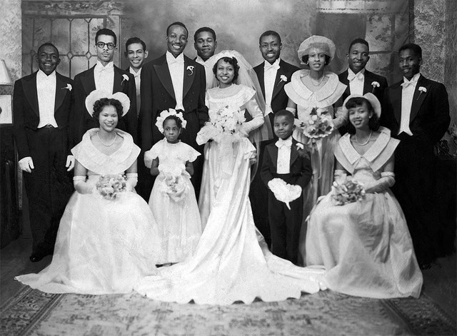 24 Charming Black and White Photos of African-American Weddings in ...