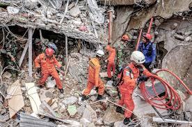 earthquake on Sulawesi island
