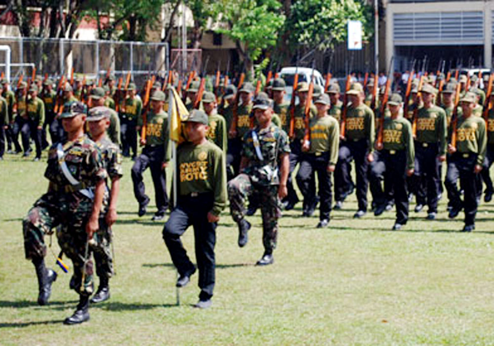 rotc in the philippines Providing a strong civilian base for the expansion of the armed forces of the philippines (afp) in the event of war, invasion and rebellion the program made it compulsory for imale students in colleges and universities to undergo two (2) years of military training years after its implementation, rotc was proveri irrelevant.