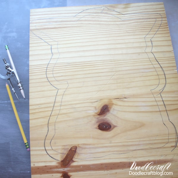 How to make a Baby Yoda from the Mandalorian series a wood cut out for home decor or parties