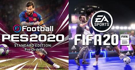 FIFA 20 Vs PES 2020