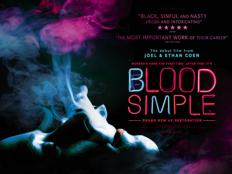 blood simple director's cut poster
