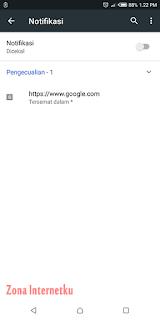 Cara Menonaktifkan Izin Notifikasi Pada Chrome Browser 2