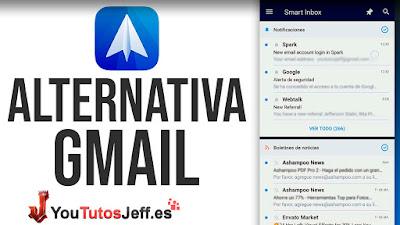 Descargar Spark para Android, Alternativa a Gmail