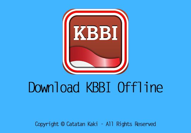 Download Kamus Besar Bahasa Indonesia (KBBI) Offline