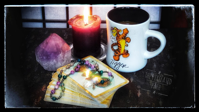 The Enchanted Map Oracle Coffee and Cards