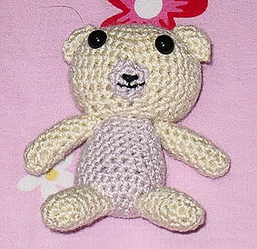 crocheted bear amigurumi