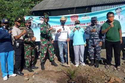 SAMBUT HUT TNI KE 75 TAHUN 2020 POSMAT BENETE LAKSANAKAN KARYA BAKTI DI RUMAH IBADAH