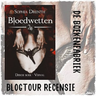 Blogtour recensie door De boekenfabriek van Verval geschreven door Sophia Drenth