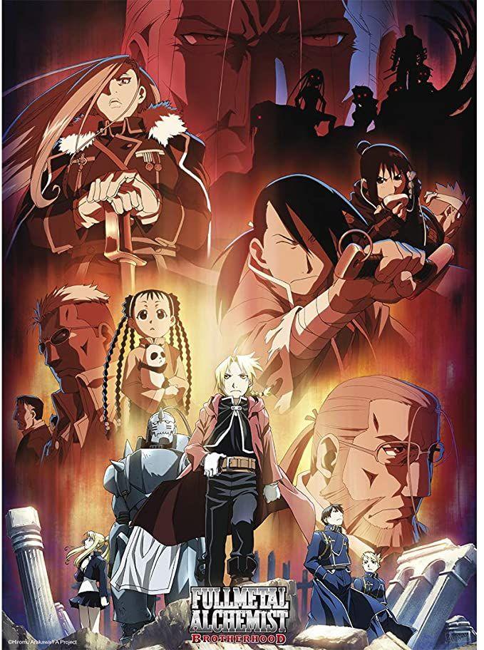 Fullmetal Alchemist: Brotherhood Dual Latino/Japones 1080p