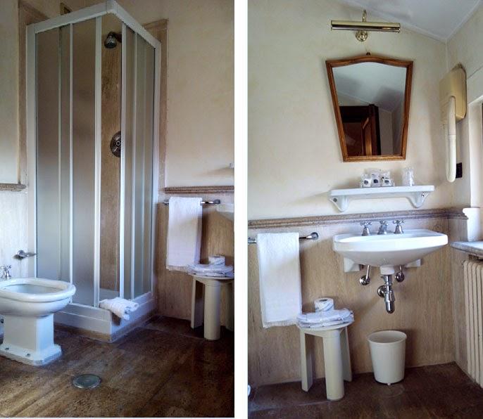 hotel Columbus banheiro - Hotel Columbus - onde ser recebido como um papa