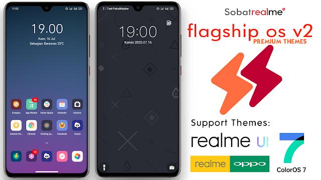 Flagship OS V2 Themes for OPPO & Realme