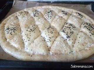 خبز البيدا التركي
