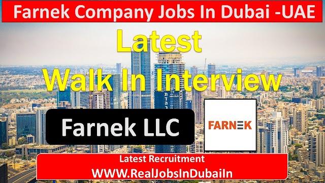 Farnek Careers Jobs In Dubai - UAE
