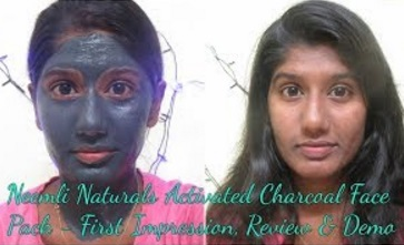 Neemli Naturals Activated Charcoal Face Pack – First Impression, Review & Demo
