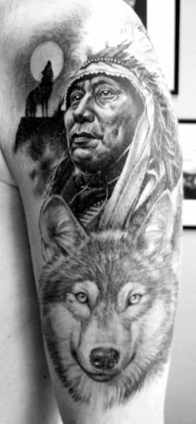 tatuajes de indios para hombres