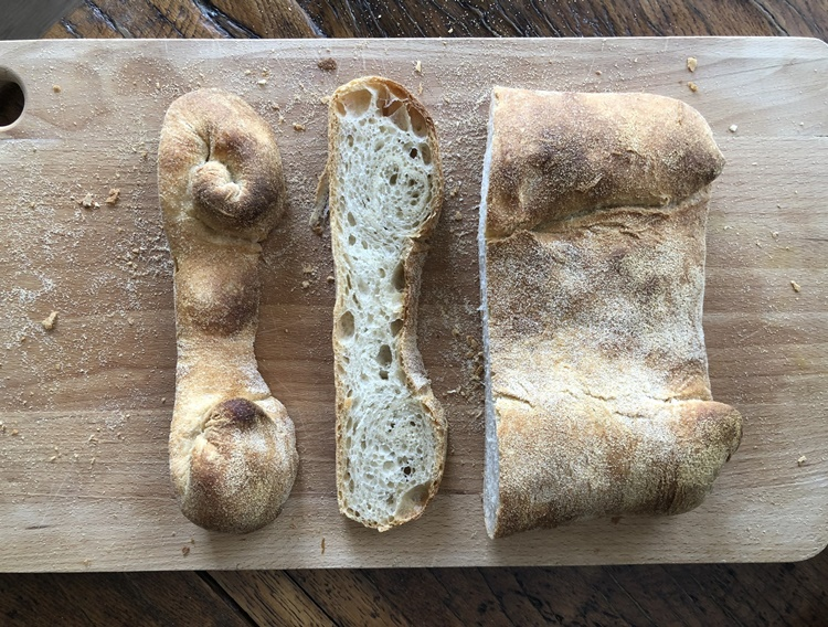 Pan de dos moños