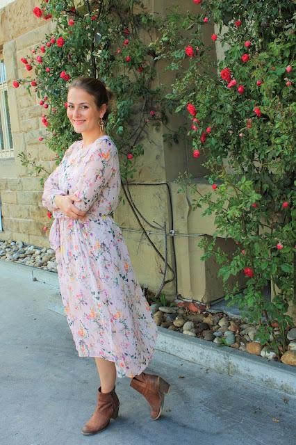 Fleur et fatale fashionblog modeblog boho kleid
