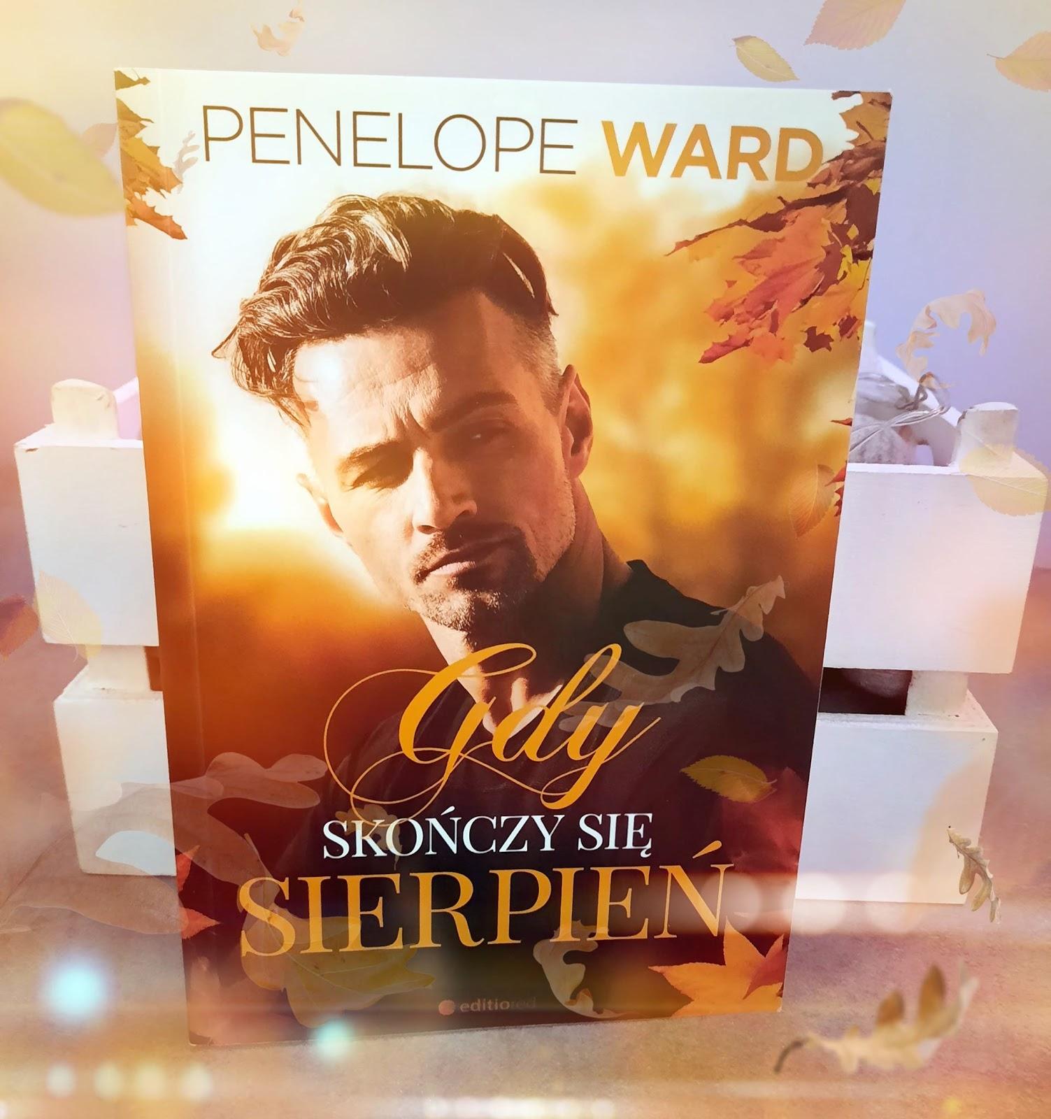 Penelope Ward - Gdy skończy się sierpień - Wydawnictwo Editio Red - Recenzja