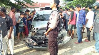 Ini Identitas Empat Korban Ditabrak Mobil Yaris Setelah Terobos Razia di Lhoksukon