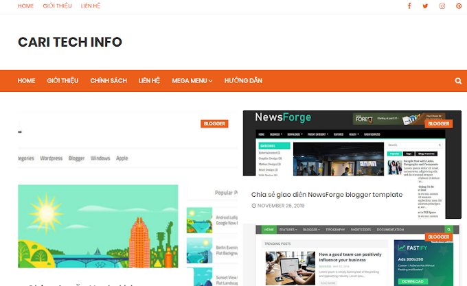 Dịch vụ thiết kế blogspot theo yêu cầu