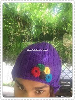 free crochet pattern, free crochet beanie pattern, free crochet unisex reversible beanie pattern,