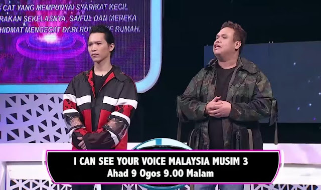 LIVE I Can See Your Voice Malaysia 3 Minggu 19 (9.8.2020)