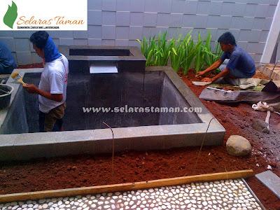 Tukang Kolam Koi Surabaya