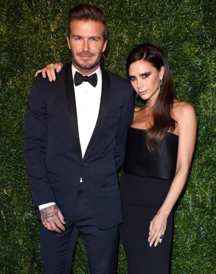 David Beckham reveals he and wife, Victoria, renewed ...